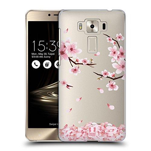 Head Case Designs Kirschen Blüten Blüten Und Laub Ruckseite Hülle für Zenfone 3 Deluxe 5.5 ZS550KL