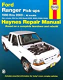 Ford Ranger & Mazda B-Series Pick-Ups Automotive Repair Manual: All Ford Ranger Models, 1993-2000; All Mazda B2300, B3000, & B4000 Pickups, 1994-2000 (Haynes Automotive Repair Manual) by Eric Jorgensen (2000-01-15)