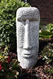 Stone Easter Island Face Figure,handmade, frost-proof, Made in Germany