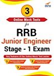 Disha Publication 3 Online Mock Tests For RRB Junior Engineer Stage -1 Exam (Email Delivery in 2 Hours - No CD)