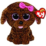 TY - Maddie, peluche perro, 15 cm, color marrón (36157TY)