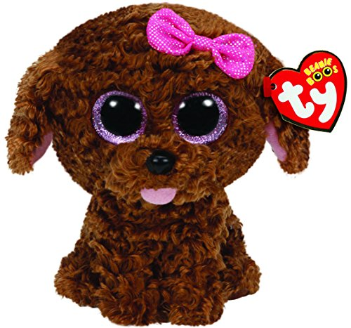 ty-beanie-boo-plush-maddie-the-brown-dog-15cm