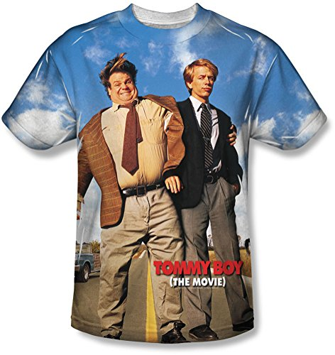 Tommy Boy - - Männer Poster T-Shirt White