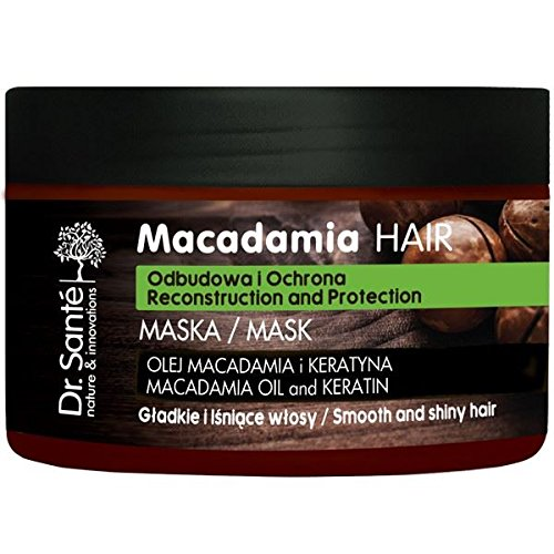 Dr.Sante Natural Macadamia Mask for Weakened Hair with Keratin 300ml