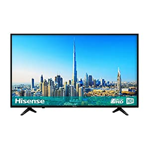 Hisense H43A6200UK 4K Ultra HD Smart TV – Black (2018 Model)