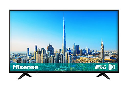Hisense H50A6200UK 50-Inch 4K Ultra HD Smart TV with Freeview Play - Black (2018 Model)