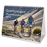Sportzauber Mountainbike · DIN A5 · Premium Tischkalender/Kalender 2019 · Sport · Fahrrad · Trekking · Sattel · Ausrüstung · Gebirge · Set 1 Grußkarte & 1 Weihnachtskarte · Edition Seelenzauber