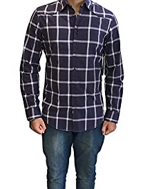 87c09bc7657 Calvin Klein Jeans Men s Regular Fit Long Sleeve Cotton Casual Shirt (Small)