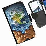 Hairyworm- Universum Seiten Leder-Schützhülle für das Handy Samsung Galaxy A3 (SM-A300F, SM-A300FU)