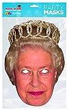 Rubie's QUEEN01 Masque de la reine Élisabeth Taille unique