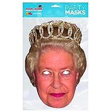Rubies Queen Elisabeth Adult Mask One Size, Beige (Rubie'S Spain QUEEN01)