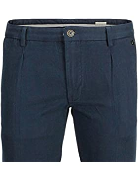 Pantalon Chino Petroleo Pinzas L32 de Selected