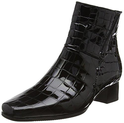 Gabor Shoes Comfort Basic, Stivaletti Donna, Nero (Schwarz Mel.), 35 EU