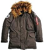 Alpha Industries - Polar Winterjacke Vintage Brown (XXL)