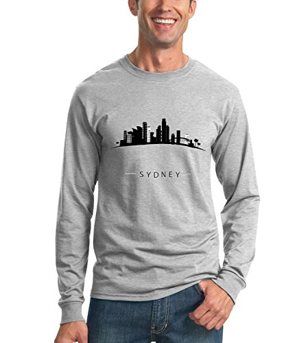 billion-group-kiss-me-forever-sydney-city-collection-mens-unisex-sweatshirt-gris-medium