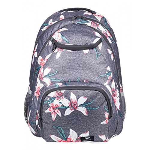 Sac à dos 2 compartiments Shadow Swell - Roxy - Charcoal Heather Flower Field