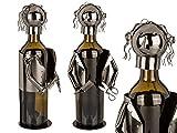 OOTB Metall-Flaschenhalter Friseur, ca. 21 x 13 cm # 71/3178