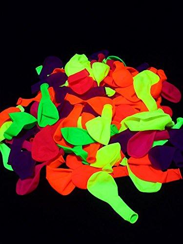 ht Luftballons Neon Gemischt ()