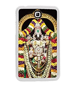 Fiobs Designer Back Case Cover for Samsung Galaxy Tab 3 (8.0 Inches) T310 T311 T315 LTE (Tirupati Balaji God South)