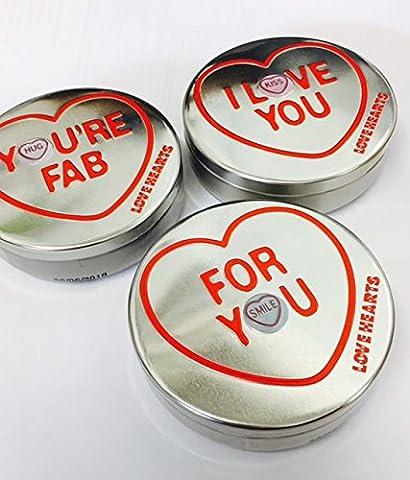Swizzels Matlow Mini Love heart Rolls Gift Tin - 1 Supplied
