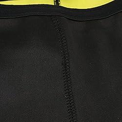 T-shirt Femmes Sport Chaud Chemise en Néoprène Amincissant Façonneuse Shapewear - Xl