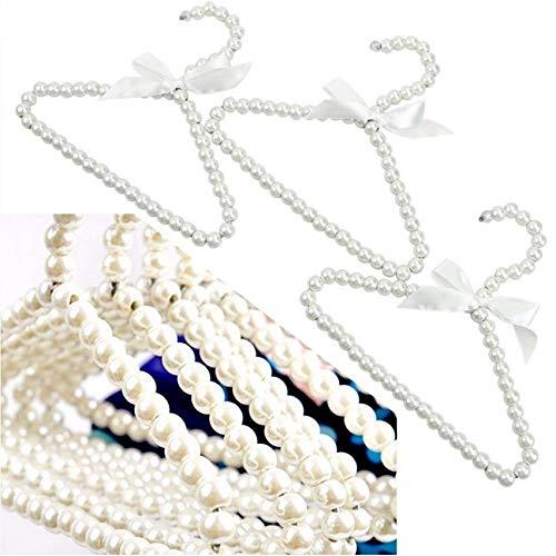 Perle Aufhänger Mode Hund Kleiderbügel Für Kleidung Baby Perle Kunststoff Pet Kleiderbügel ()
