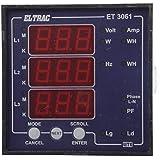 ELTRAC - Basic Multi Function Meter / Multi Data Meter, 9.6 cm x 9.6 cm x 5.2 cm, CL 1.0 / CL 0.5 (Optional)