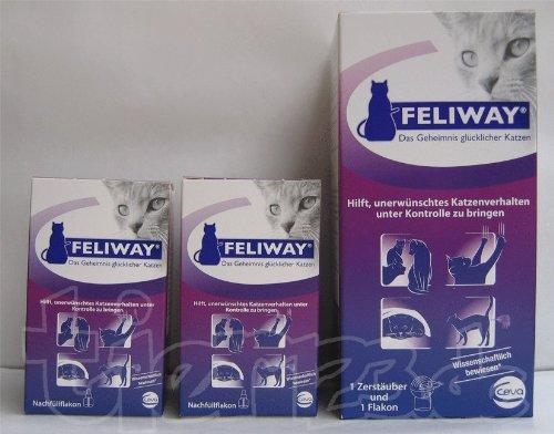 Feliway Bundel 3x 48ml Nachfüller + Stecker Test