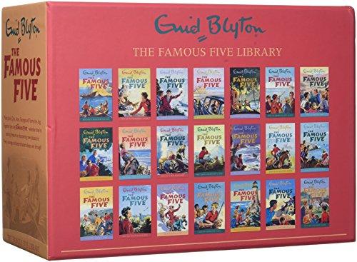 Famous Five Series 21 Books Collection por Enid Blyton