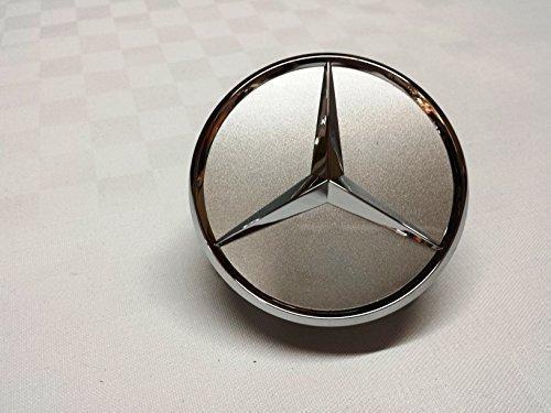 1x Original Mercedes Benz Radzierdeckel Kappe Deckel Nabendeckel Radnabenabdeckung Wheel Cap Radnabendeckel Zierdeckel silber / chrom Stern B66470202 / A2204000125 E-Klasse C-Klasse CL...