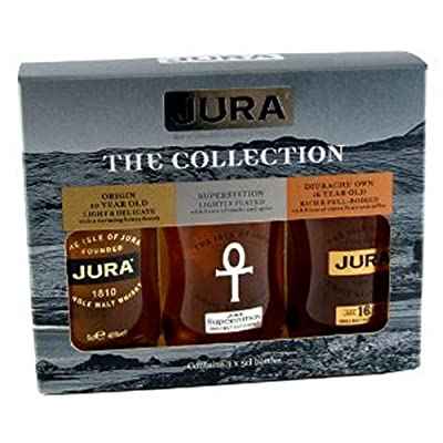 Isle of Jura 200th Anniversary Gift Set 5 cl (Pack of 3) by Isle of Jura