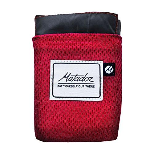 MATADOR Erwachsene Blanket Pocket Decke, Original Red, NA