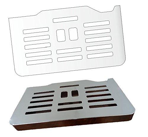 3 x Schutzfolie für DeLonghi PrimaDonna ESAM 6900 M & 6850 - Abtropfblech - Tassenablage -...
