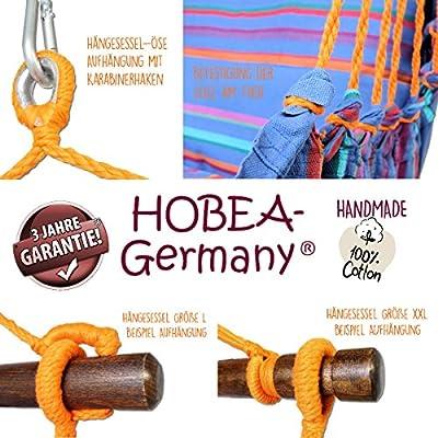 HOBEA-Germany Hängesessel mit 2 Kissen in verschiedenen Farben von HOBEA-Germany - Gartenmöbel von Du und Dein Garten