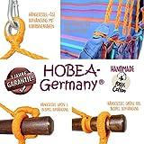 Hängesessel mit Kissen von HOBEA-Germany in verschiedenen Farben, Größe Hängesessel:XXL (bis 140kg belastbar);Farben Hängesessel:Prinzessin - 4