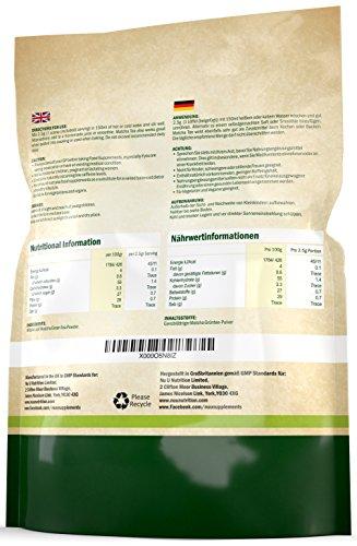 Matcha Grüntee Pulver 250g | Hochwertiger Matcha Tee 250g Doppelgröße | Hergestellt in Großbritannien | ultrafeinem | leicht zu mixendem Matcha Pulver | reich an Antioxidanten | Ideal für Smoothies