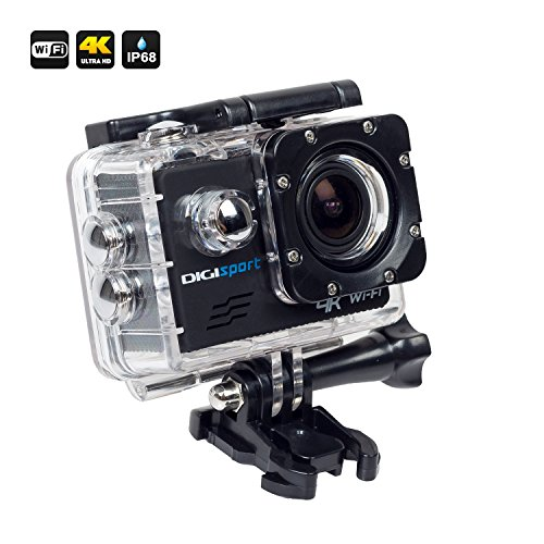 DigiSports Go Pro Style 8000 Sports Action Camera (Black)