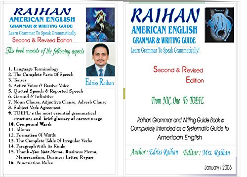 Raihan American English Grammar Guide Raihan Grammar Guide Ebook