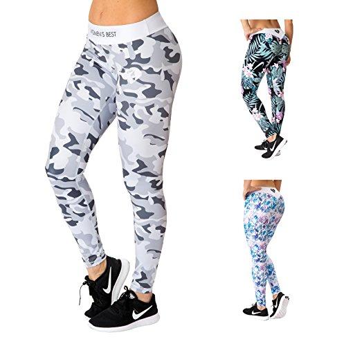 Legging de Sport femmes avec un comfort absolut pour une silhouette parfaite   WOMEN'S BEST camouflage