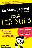 Le Management Poche Pour les Nuls, nlle édition - First - 02/07/2007