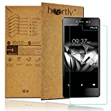 Heartly Protective 2.5D 0.3mm Pro 9H Hardness Toughened Tempered Glass Screen Protector For Micromax Canvas 5 E481
