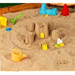 KetoPlastics 20KG PLAY PIT TRAY SAND FOR SANDPIT NON TOXIC SAFE KIDS, CHILDREN, NURSERY TOY