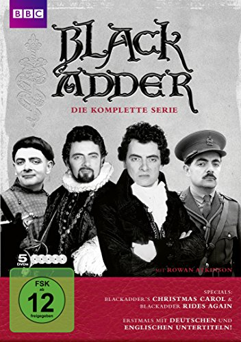 Blackadder Komplettbox [5 DVDs]