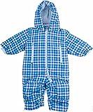 lupilu® Baby Winteroverall imprägniert mit BIONIC® FINISH ECO (blau kariert, Gr. 62/68)