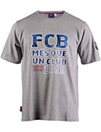 T-shirt Barça - Collection officielle FC BARCELONE - Football club Barcelona - Taille adulte Homme