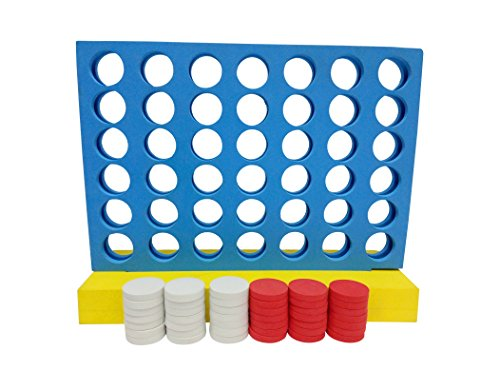 Funmate Giant Connect 4 in A Row Game,Connect 4 Connect Four Line Up 4 In A Row Four In A Line Board Game ,family Garden Outdoor Indoor Game fun game?Party Fun Game