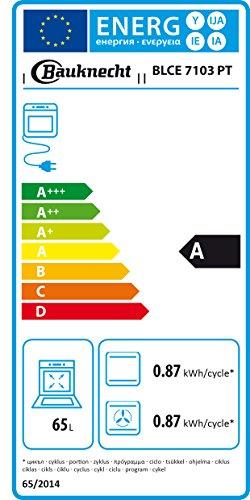 Bauknecht BLCE 7103 PT Einbau-Elektro-Backofen / A / Edelstahl / ProTouch / CleverCook - 2