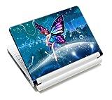 Luxburg® Design Notebook Skin Pellicola protettiva adesiva per portatili Notebook da 10 / 12 / 13 / 14 / 15 pollici, motivo: Fata