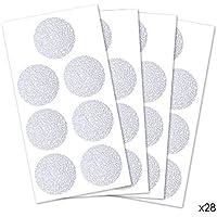 HaftPlus Adhesivo Antideslizante para Bañera y Ducha - 28 Discos de 35 mm