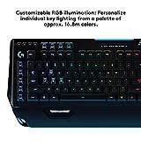 Logitech G910 Gaming Mechanische Tastatur mit RGB Orion Spectrum (Qwertz, deutsches Layout) schwarz - 5